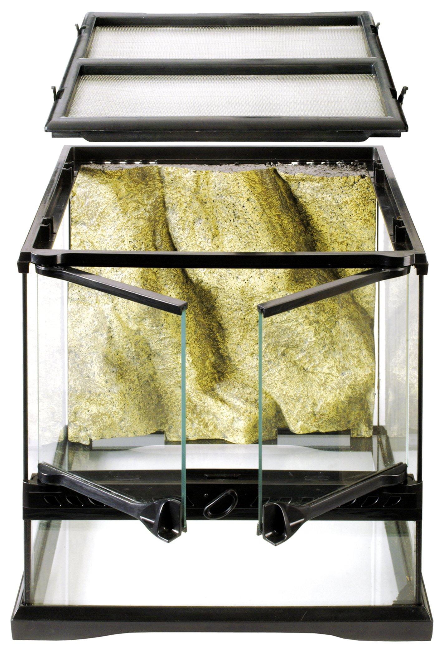 Exo Terra Glass Reptile Terrarium, 12 by 12 by 12 inch by Hagen