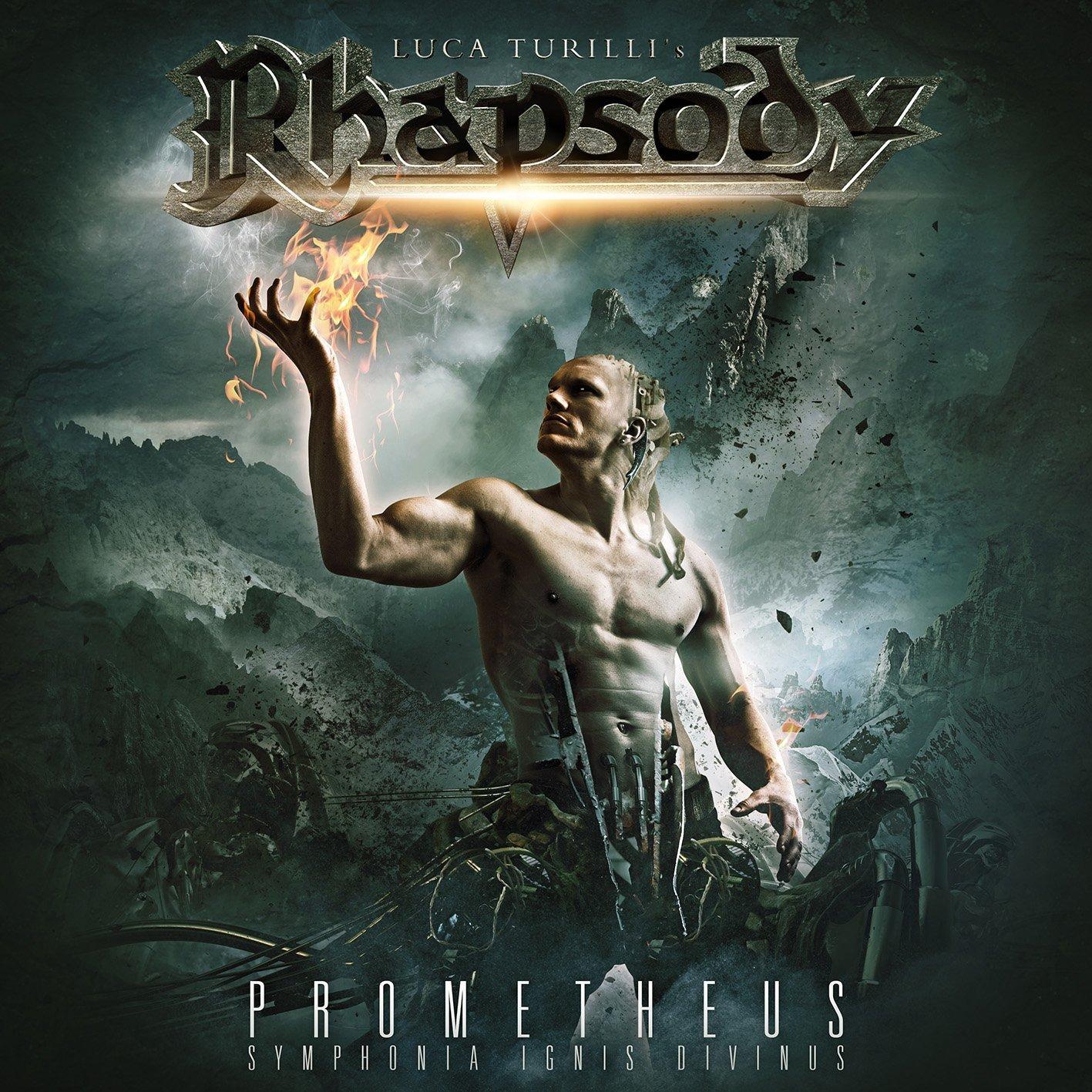 CD : Luca Turilli's Rhapsody - Prometheus, Symphonia Ignis Divinus (CD)