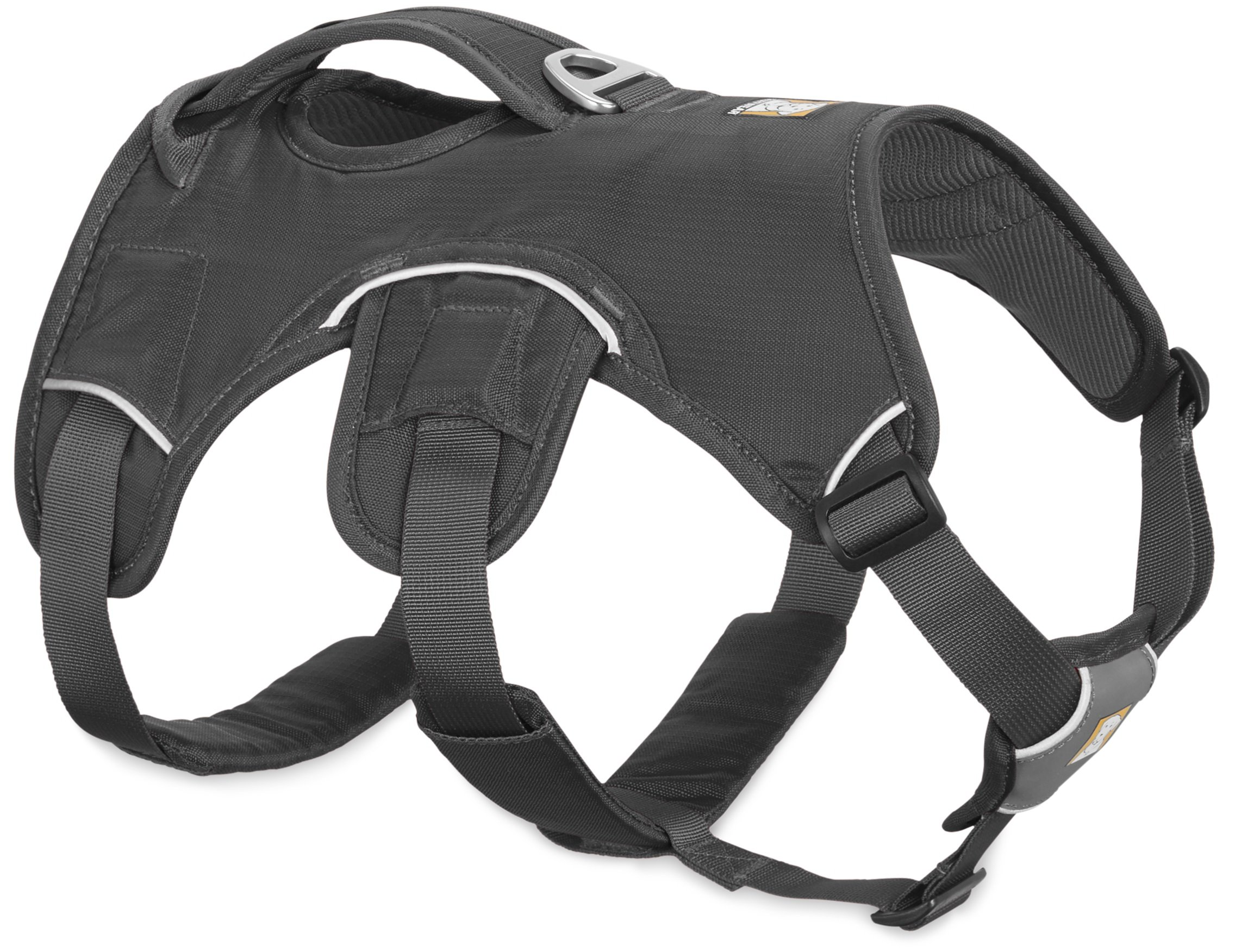 RUFFWEAR NEW 2017 GRAY WEB MASTER DOG HARNESS ♦ SECURE REFLECTIVE SUPPORTIVE MULTI USE ♦ ALL SIZES (Small)