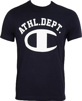 78ffd7641e4d3 Champion Athletic Mens Short Sleeve Top - Navy  Amazon.co.uk  Sports ...