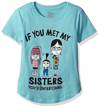 Amazon.com  Universal Girls  Big Despicable Me Minions T-Shirt  Clothing 3de1bf3a8