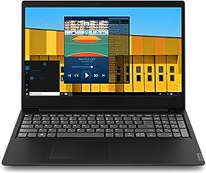 "Lenovo Laptop IdeaPad S145 15.6"" Computer Intel Celeron 4205U 1.8GHz Processor 4GB DDR4 RAM 128GB SSD Intel UHD Graphics 610 802.11AC WiFi Bluetooth 4.1 USB 3.1 HDMI Onyx Black Windows 10 Home"