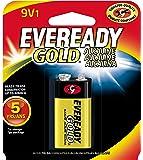 EVEREADY 9V Battery, 9 Volt Alkaline (1 Count)