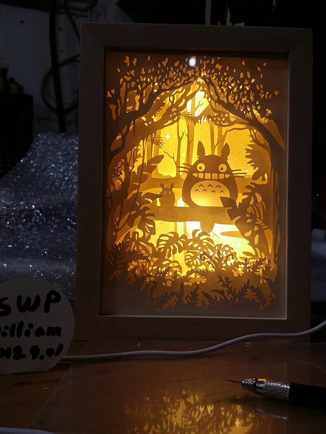 papercut light boxes