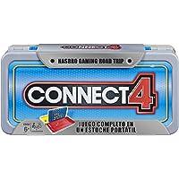 Hasbro Gaming Serie Road Trip - Juego Conecta 4 - Juego de Mesa portátil para niños de 8 años en adelante Board Game