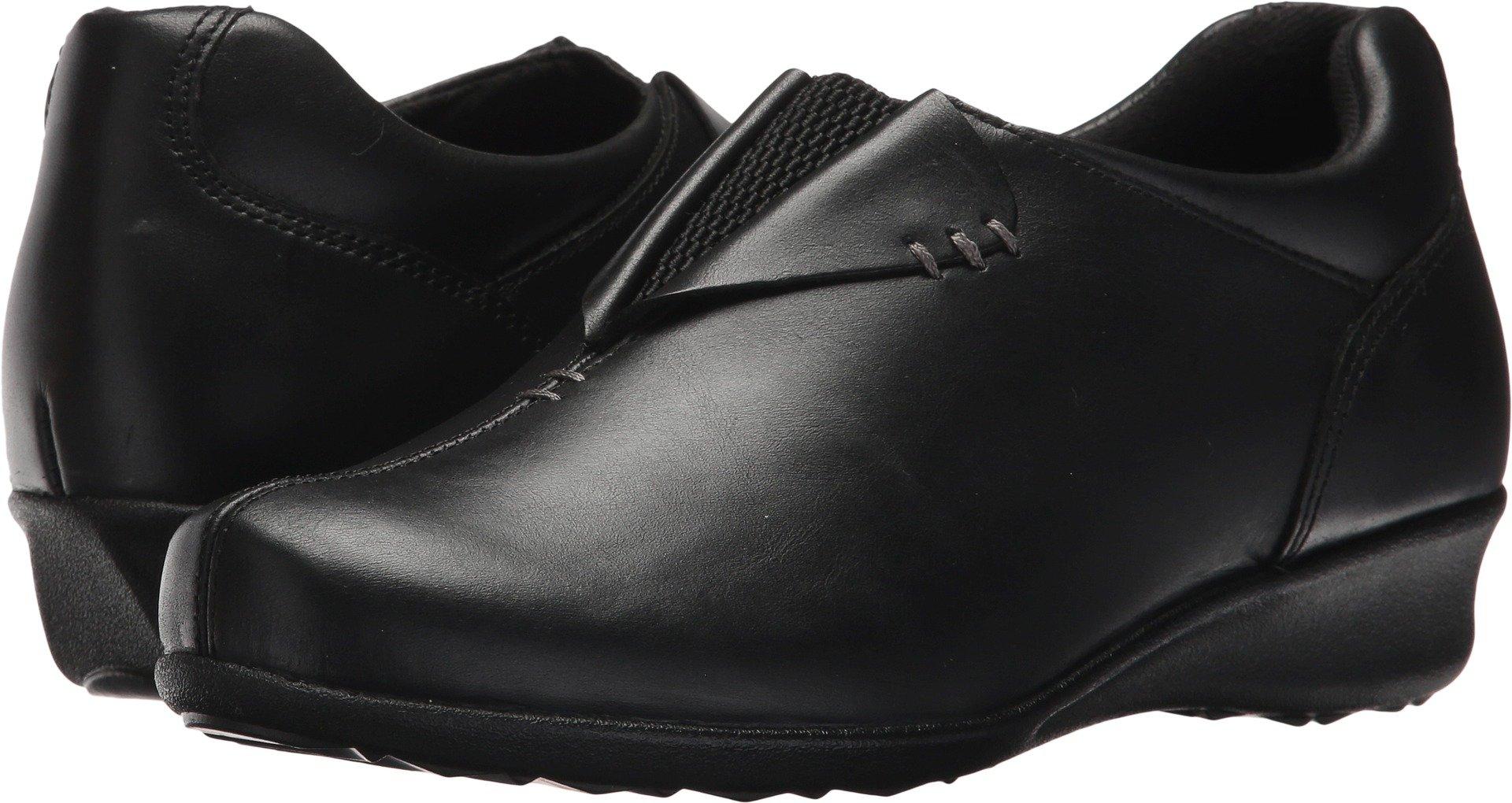 Drew Shoe Naples Women's Therapeutic Diabetic Extra Depth Shoe: Black 8.5 X-Wide (2E) Slip-On