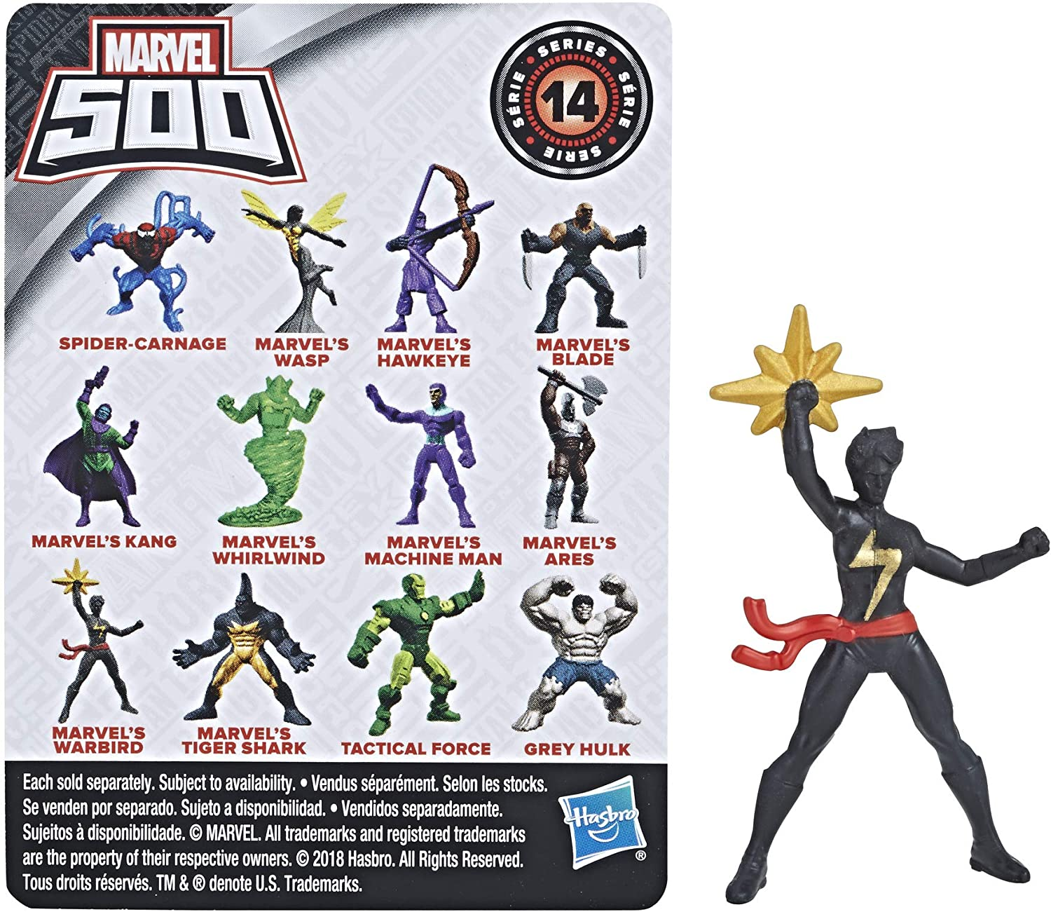 Marvel 500 Micro Series 14 Mystery Pack