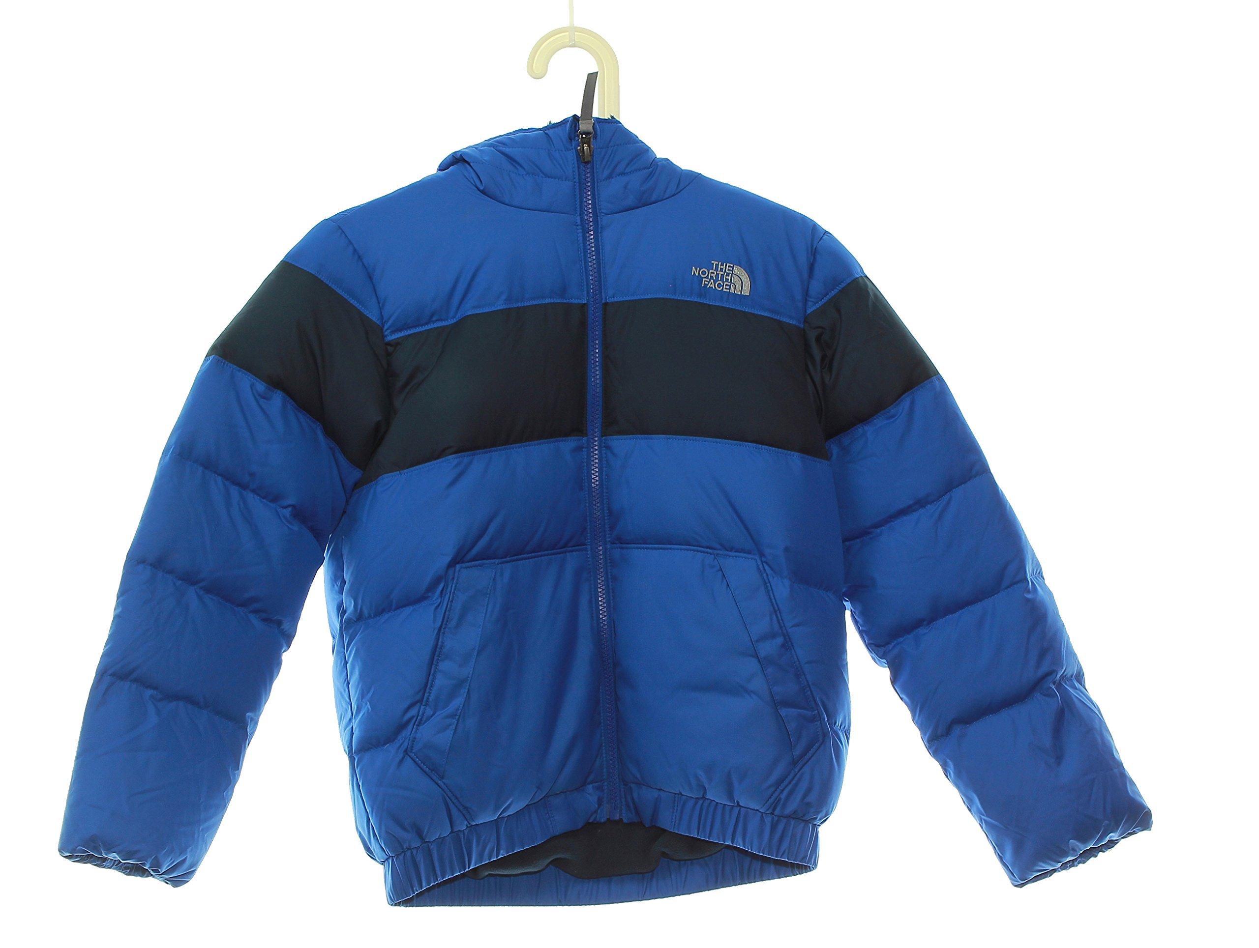 Boy's The North Face Moondoggy 2.0 Down Jacket Size 10/12 Medium Blue