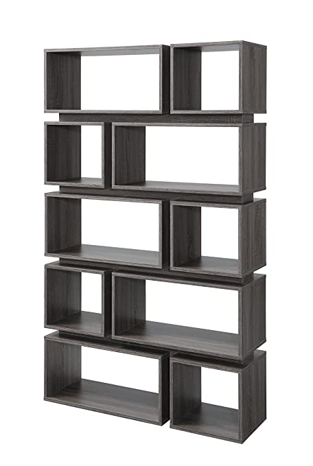 the best attitude 293d2 ba4d6 Amazon.com: ioHOMES Taylor Modern Display Shelf, Distressed ...
