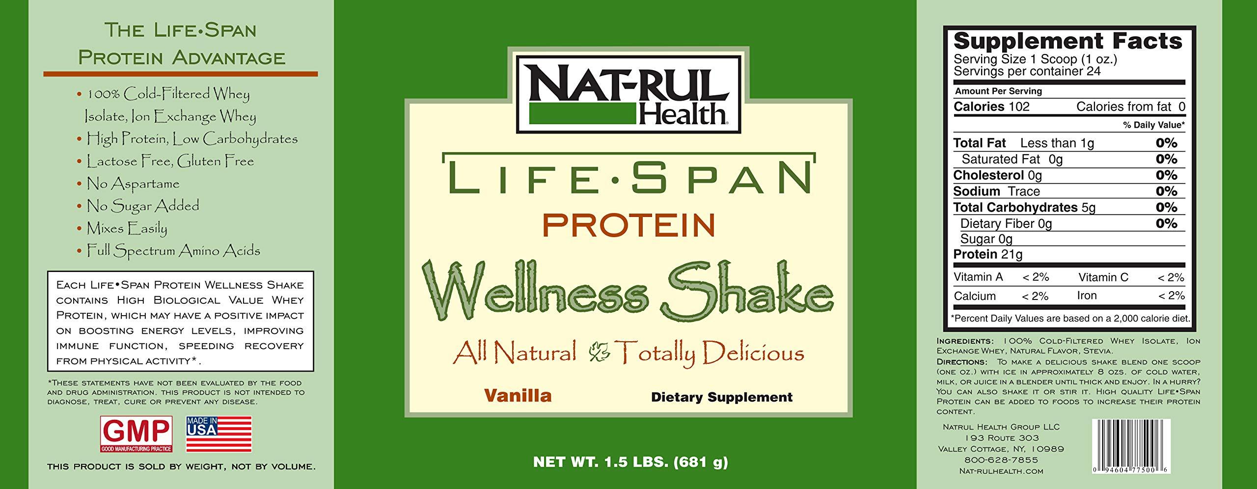Life-Span Vanilla Protein Shake (3-Pack)