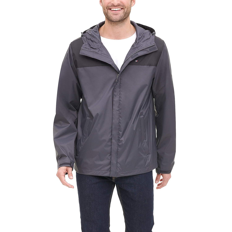 Tommy Hilfiger Breathable Hooded Rainwear Jacket