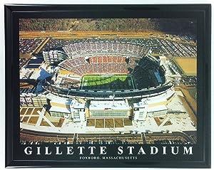 Football New England Patriots Gillette Stadium Framed Print Wall Art