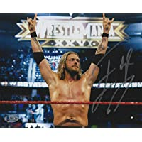 $64 » Edge Signed WWE 8x10 Photo BAS Beckett COA Wrestlemania XXVI Picture Autograph 9 - Autographed Wrestling Photos