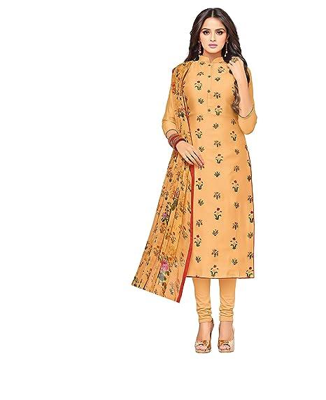 d9a13327cfba Oomph! Women's Dress Material (rbmf_dm21_632_Beige_Free Size ...