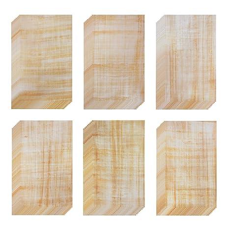 Amazon.com: Papel de papelería – 6 antiguos diseños de ...