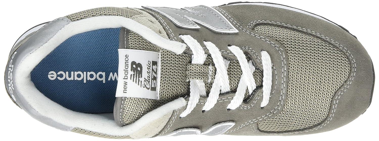 New Balance Unisex Baby 574 IC574 Schuhe, 23 EUR, Grey