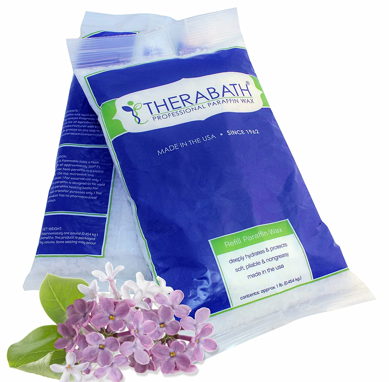 Therabath Paraffin Wax Refill - Use To Relieve Arthitis Pain and Stiff Muscles - Deeply Hydrates and Protects - 6 lbs (Fresh Squeezed Lemon) 0130