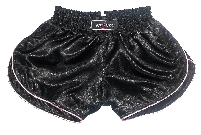 Boxsense Damen Muay Thai Hosen Boxen - BXSWO-001-Black