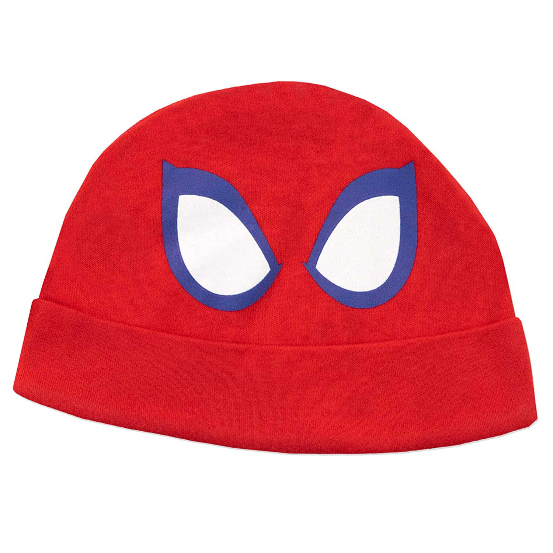 Marvel Set di Tutina da Notte e Cappellino per Bambino Spiderman