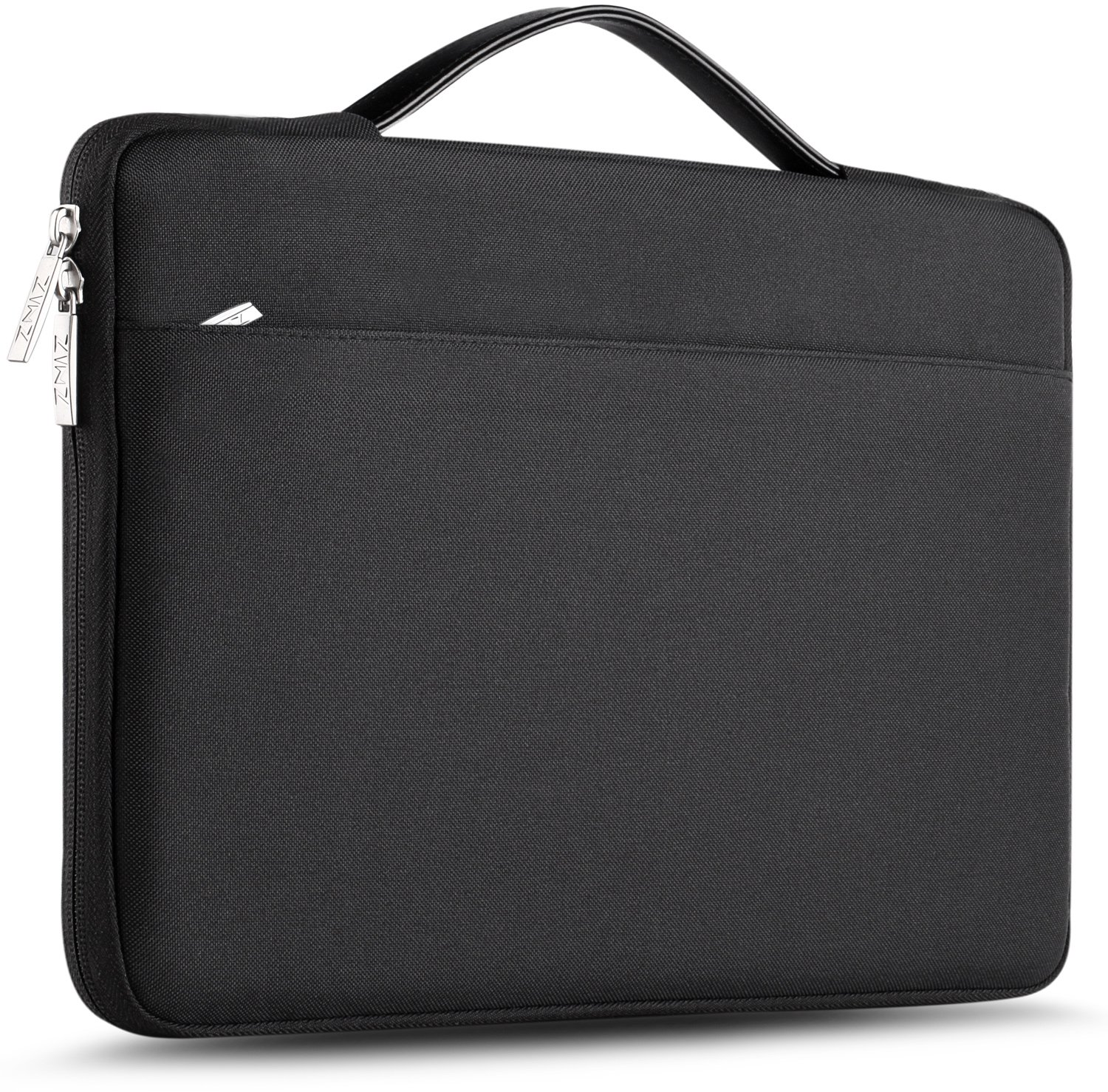ZINZ Laptop Sleeve for 13 Inch 2017 New MacBook Pro | 13.3 Inch Acer/Ausu/Dell/HP/Toshiba/Lenovo Polyester Spill-Resistant Laptop Bag Case Cover -Black