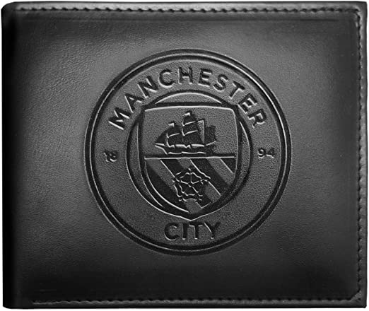 Manchester United Football Club Official Soccer Gift Embossed Crest Wallet