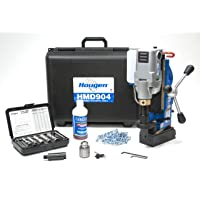 Hougen HMD904S 115-Volt Swivel Base Magnetic Drill Fabricator's Kit with Integrated Coolant Bottle Plus 1/2