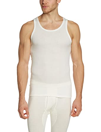 Where To Buy Low Price From China Free Shipping Low Price Mens Angora Unterhemd S8010040 Sleeveless Themal Top Susa 2018 New Sale Online Wiki Sale Online mp7kE