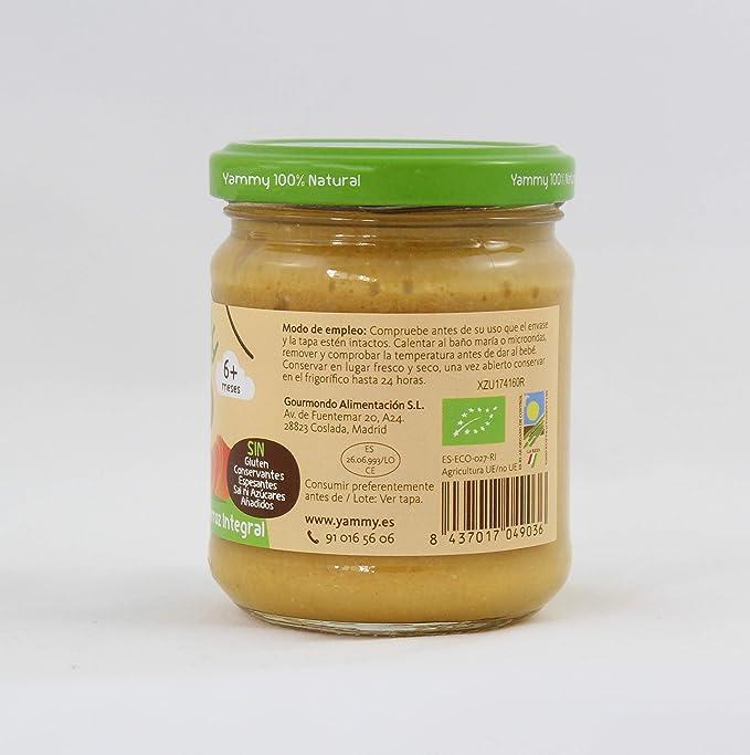 Yammy, Pack Potitos Ecológicos Menú (Verduras, Pollo, Ternera y Lubina) - 12 de 195 gr. (Total 2340 gr.): Amazon.es: Alimentación y bebidas