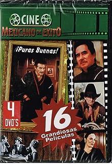 CINE MEXICANO DE EXITO [16 GRANDIOSAS PELICULAS EN 4 DVDS] LOS CAIFANES & SIN