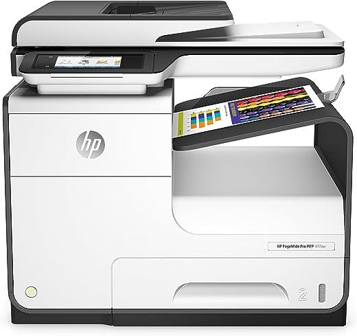 HP PageWide Pro 477dw (Multifunctionele Kleuren Printer met HP PageWide-Technologie) Teams tot 10 gebruikers, Tot 40 ppm (zwart) en 40 ppm (kleur)