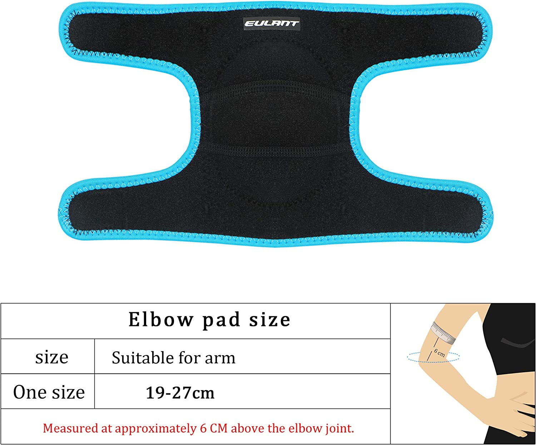 EULANT Acolchada Coderas para Ni/ños Ajustable Protector Codo para Baile F/útbol Voleibol Baloncesto Ciclismo Patinetes Skateboarding