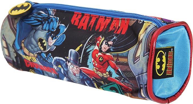 Batman - Estuche oficial para lapiceros y bolígrafos Modelo Barrel para niños (Talla Única/Multicolor): Amazon.es: Ropa y accesorios