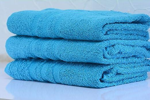 ZA TEX - Toallas de baño (100% algodón Puro, Extra Grandes, Muy ...