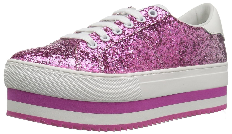 Marc Jacobs Women's Grand Platform Lace up Sneaker B0733CMH93 35 M EU (5 US)|Pink/Multi