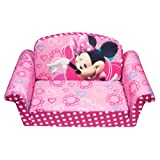 Amazon Price History for:Marshmallow Furniture Minnies Bow-Tique Flip Open Sofa