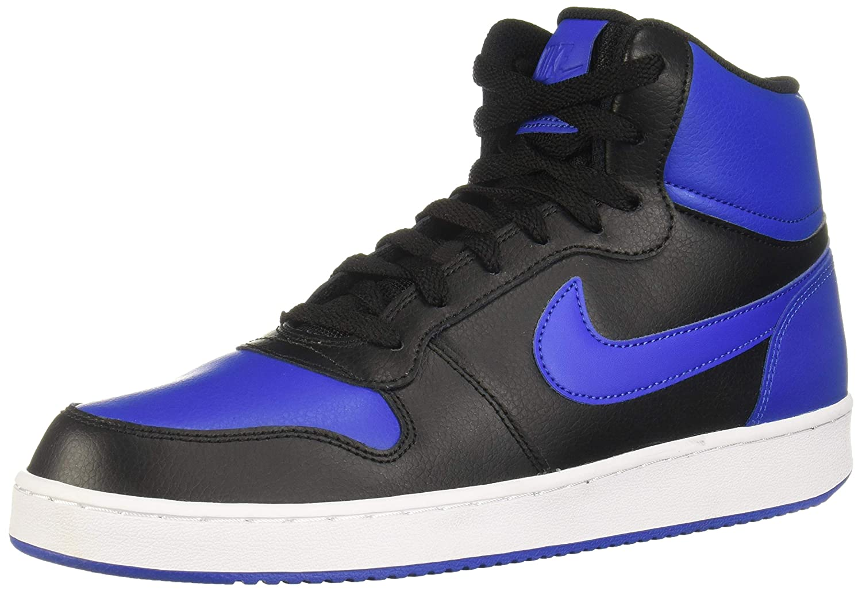 Shoes NIKE Ebernon Mid AQ1773 002 BlackWhite