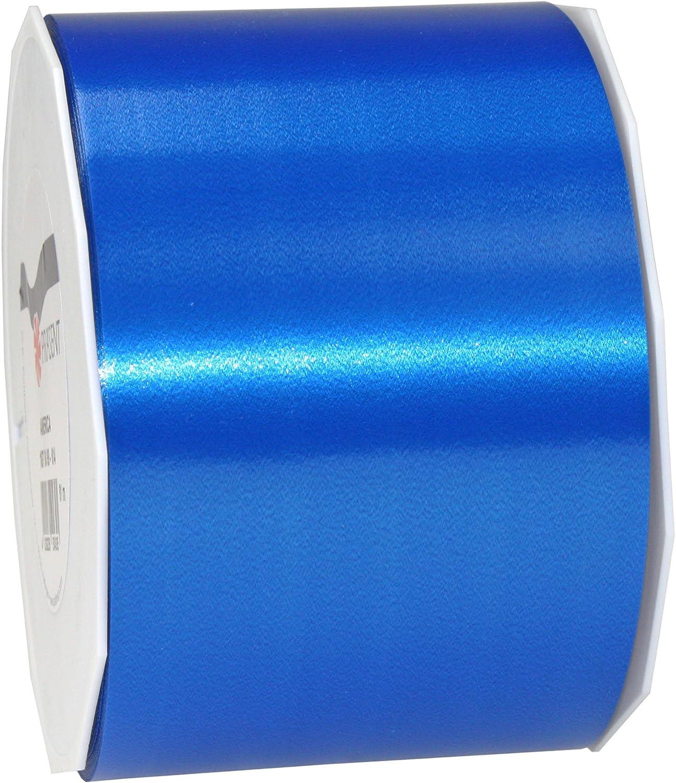 15 mm de ancho, 91 m Cinta de poli/éster color azul Pr/äsent America