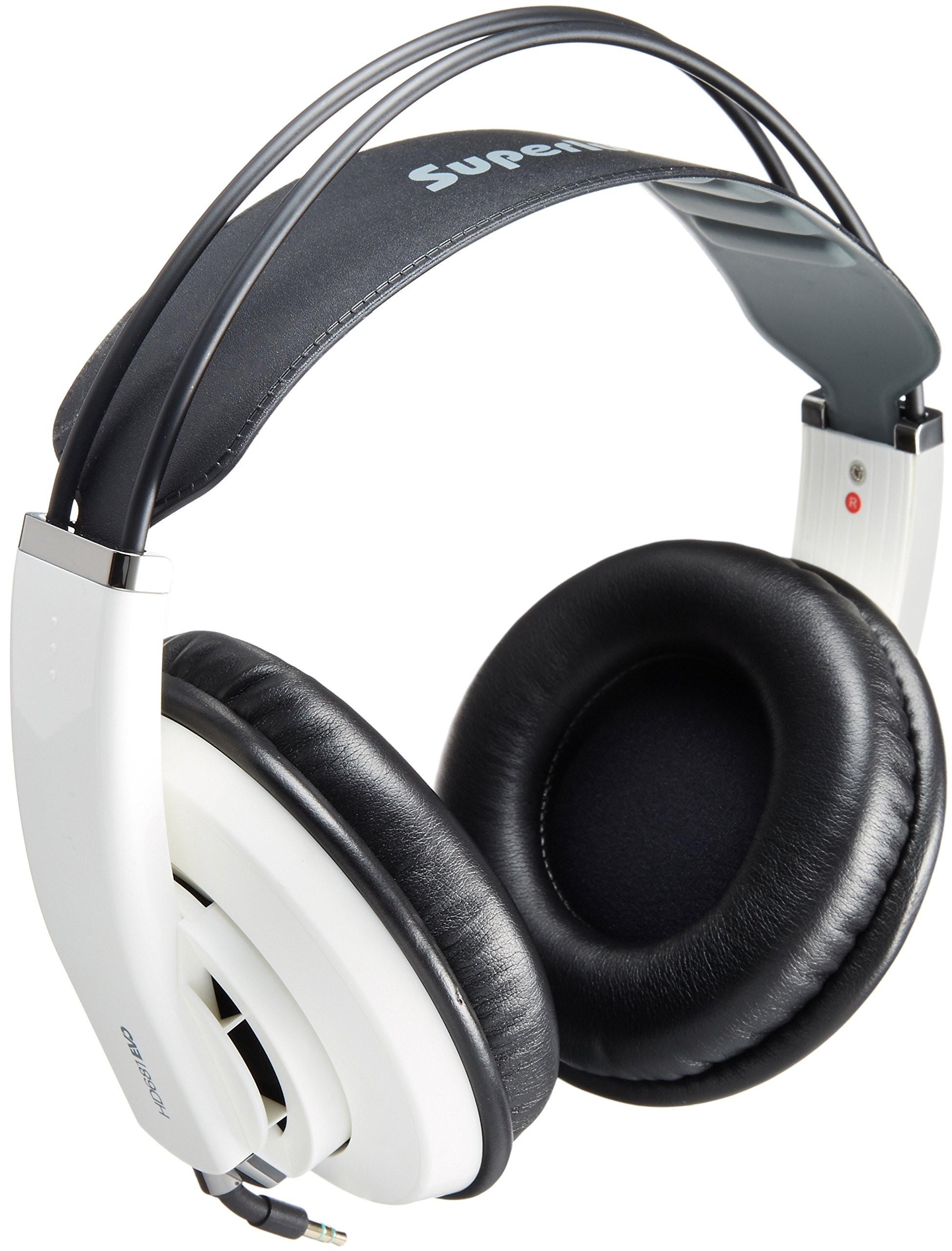 Superlux HD-681 EVO Professional Monitoring Headphones, White