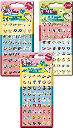 Craze BIBI UND Tina Klebeohrringe Kinder Ohrringe zum Aufkleben Sticker...