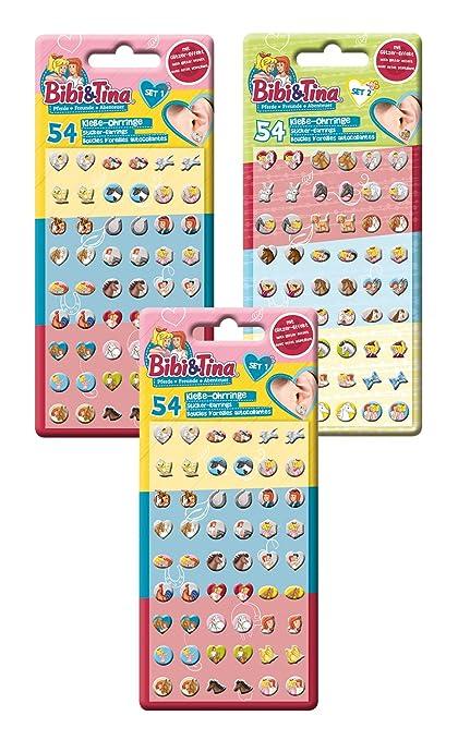 hohe Qualität großer Verkauf heiß-verkaufender Beamter Craze BIBI UND Tina Klebeohrringe Kinder Ohrringe zum Aufkleben ...