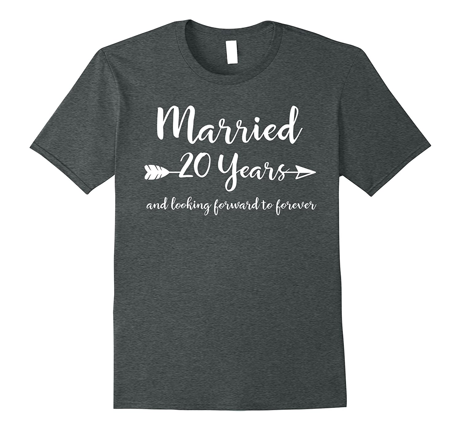 20th Wedding Anniversary Gift Ideas For Him: 20th Wedding Anniversary Gift T-Shirt Him Her Couples Tee