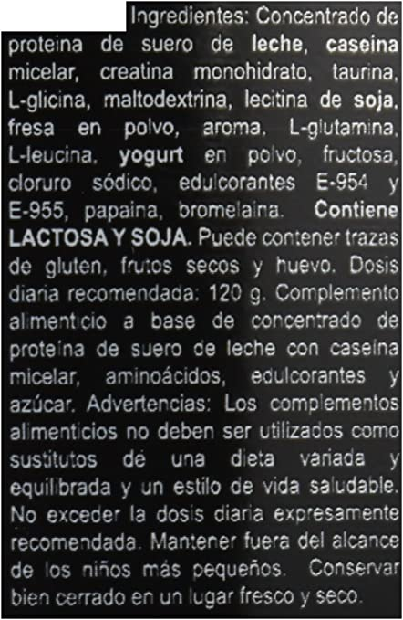 Sportlabs Protein Core, Sabor a Fresa - 2300 gr: Amazon.es ...