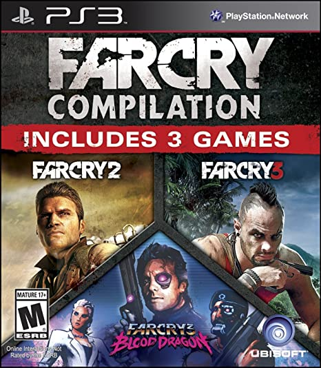Far Cry Compliation (PS3) PlayStation 3 Games at amazon