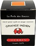 """Herbin Encre traditionnelle à stylo en flacon """"D"""" 30ml Orange indien"""
