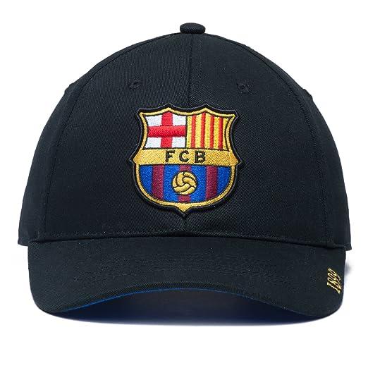 6ef6af00a52264 Amazon.com : Fan Ink Limited Fi Collection Barcelona Adjustable Snapback Hat,  Black, One Size : Clothing