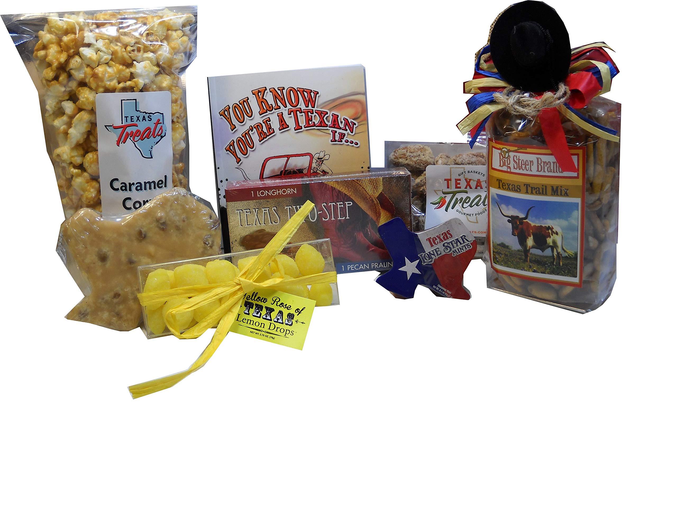 Hello Texas! Food and Souvenir Gift Set Large