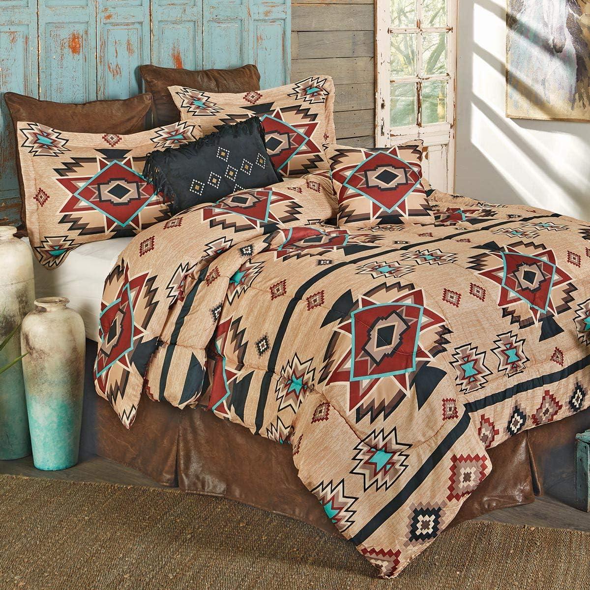 BLACK FOREST DECOR Sunset Trail Bed Set - King