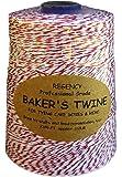 Regency Wraps Regency Baker's Twine Cone Red and White, 2300-feet, Multicolor