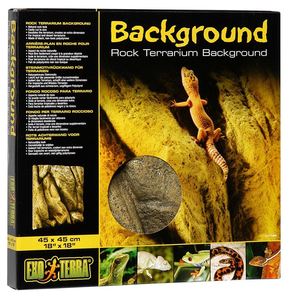 Exo Terra Terrarium Foam Background 45 X 45 Cm Fits Pt2605 Exo