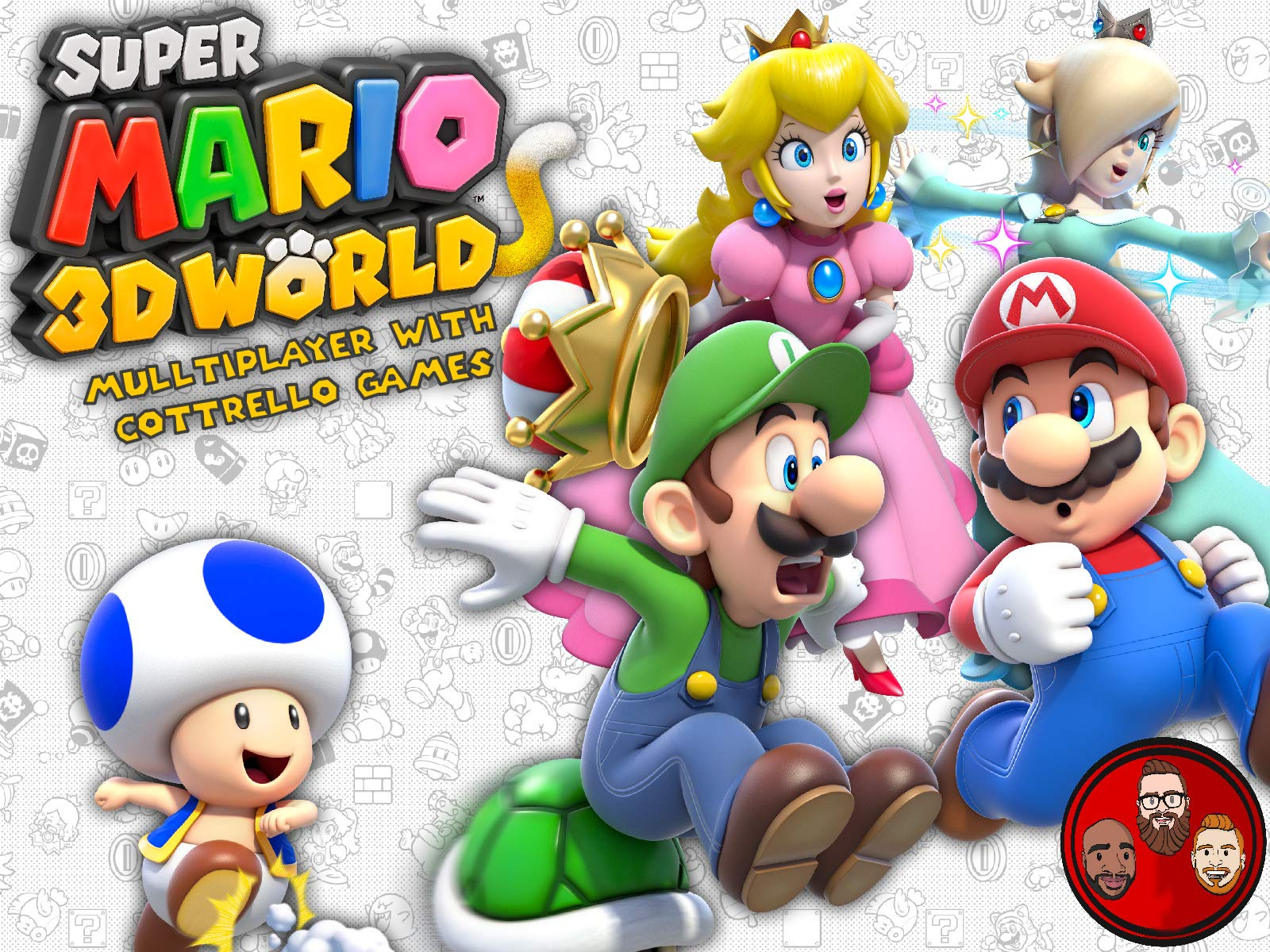 Super Mario 3D World Multiplayer with Cottrello Games